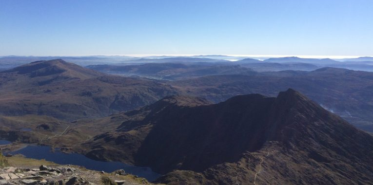 Snowdonia from Snowden